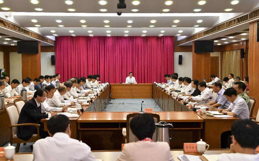 省委常委会议传达学习全国生态环境保护大会精神