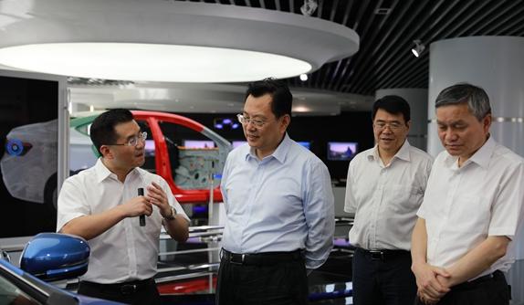 裘东耀调研吉利CMA梅山项目:全力服务重大项目高效建设