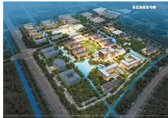 目前,人文法商学院,信息工程学院建设已开始进场装修,生命医学院建筑