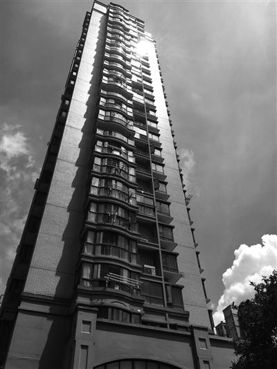 事发小区的高层楼房