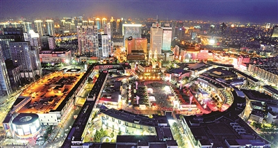 宁波东鼓道手绘地图