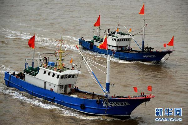 象山一渔船昨晚沉没8人失联 车俊袁家军批示全力搜救