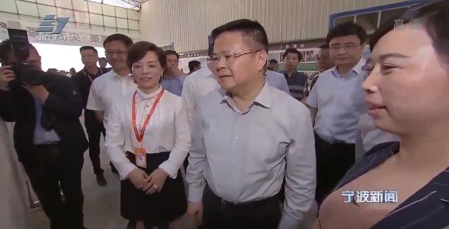 宁波市党政代表团在黔西南州考察