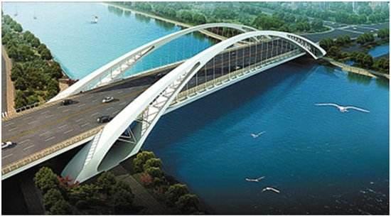【航拍】奉化江畔城市纽带——澄浪桥