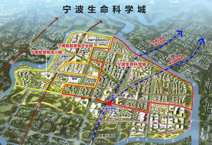 宁波生命科学城新动作 上师大宁波附属实验学校落户奉化