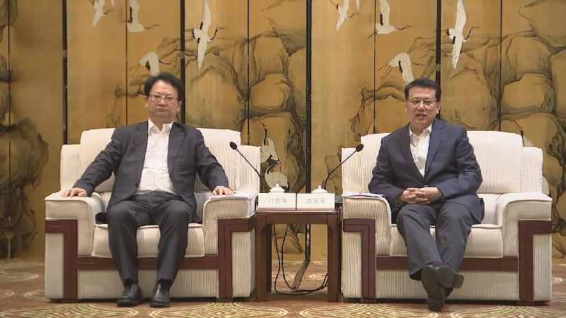 浙吉对口合作和扶贫协作交流会在甬举行 袁家军景俊海讲话