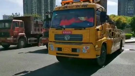 坚守·初心|宁波市交通抢险救灾小分队 紧急驰援内涝重地临海
