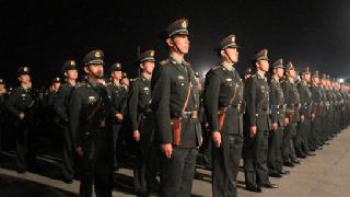 解放军驻香港部队组织第22次轮换