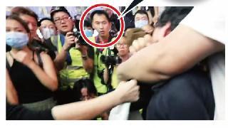 香港反对派区议员许锐宇被曝已被捕,曾疑似假扮记者帮助暴徒