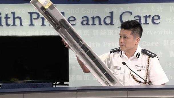 香港警方:至今已拘捕1187人,袭击付国豪的人再拘一名