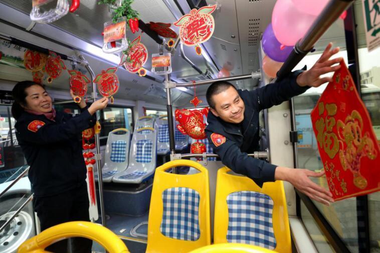"""这个春运 公交车可以""""私人订制""""啦! 外来务工人员定制专线车开始预约"""