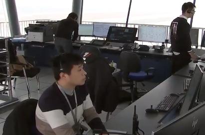 新春走基层|宁波机场新机坪塔台启用 空管青年突击队保春运平安