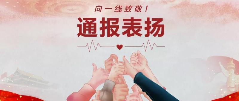 """通报表扬!宁波市第三批战""""疫""""先锋团队和个人先进事迹展播⑯"""