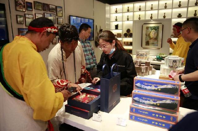 """""""西藏比如馆""""在甬开馆 助推产业援藏及扶贫消费"""