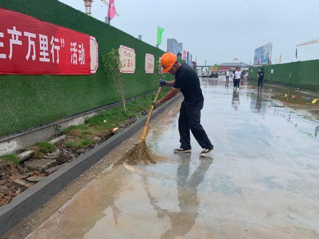 荻江村新村建设项目施工不规范后续:立即响应、及时整改