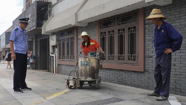 """新增128个停车位 奉化西坞""""疏堵结合""""整治违规停车"""