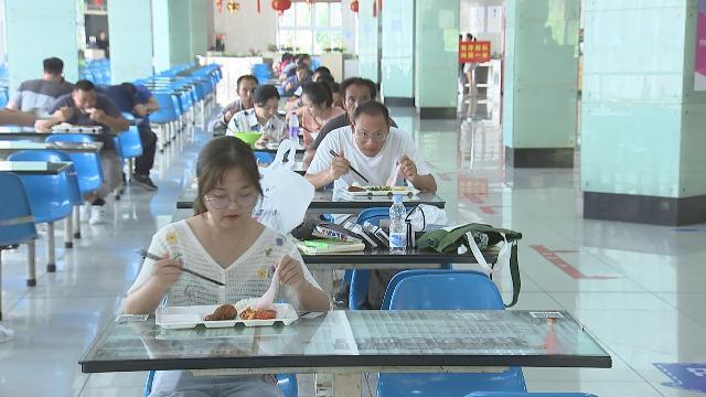 """宁波大学食堂:米饭按两卖 """"光盘""""得奖励"""