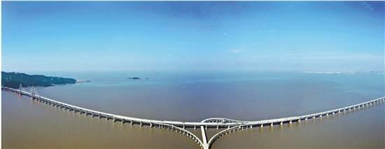 沿着高速看浙江丨沈海高速舟山段 一桥飞跨大海天堑变通途
