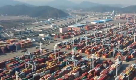 沿着高速看宁波|宁波舟山港:大通道连接大港口