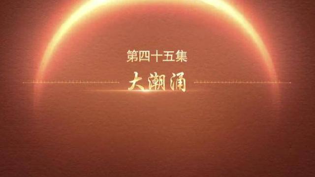 百炼成钢:中国共产党的100年 | 第四十五集:大潮涌