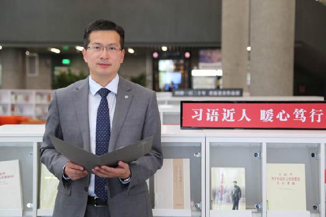 宁波图书馆馆长徐益波:注重更有效、公平、可持续的高质量公共图书馆建设