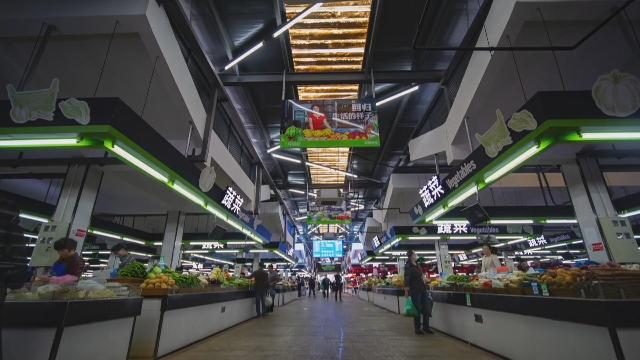 奋力打造全国文明典范城市丨宁波首家五星级农贸市场:北仑星阳市场