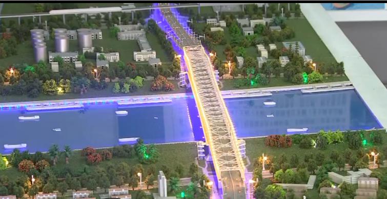 三官堂大桥工程已完成总投资七成 两年后将成跨甬江便捷通道