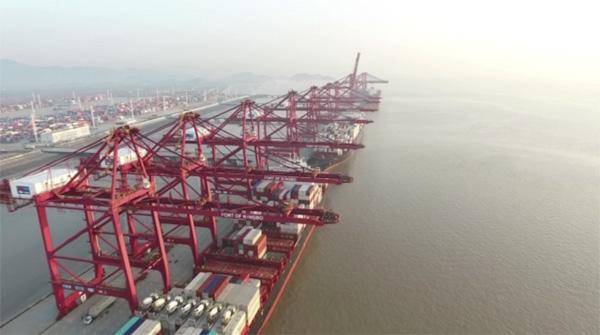 2018首季宁波舟山港货物吞吐量1.9亿吨 集装箱量增长逾一成