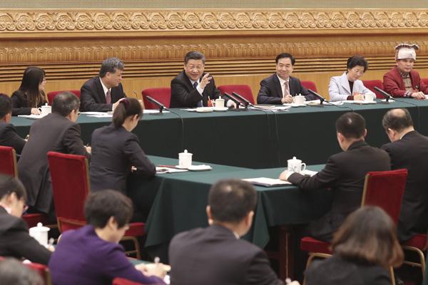 习近平参加广东代表团审议:人才是第一资源