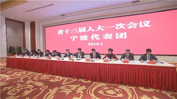 关注省两会|宁波代表团审议省政府工作报告