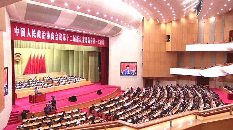 关注省两会|出席省政协大会的在甬委员返甬