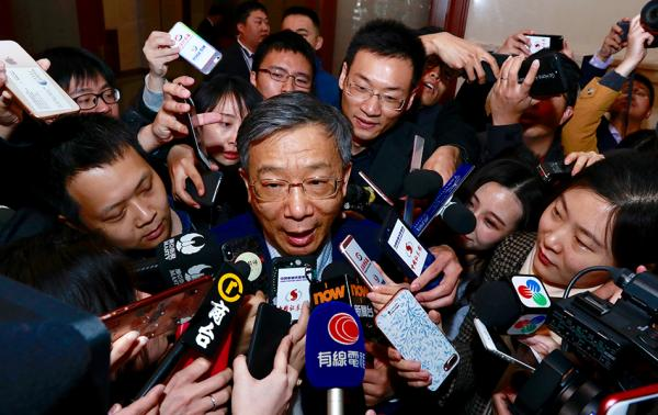 易纲:当选央行行长使命神圣和光荣,将推动金融改革开放