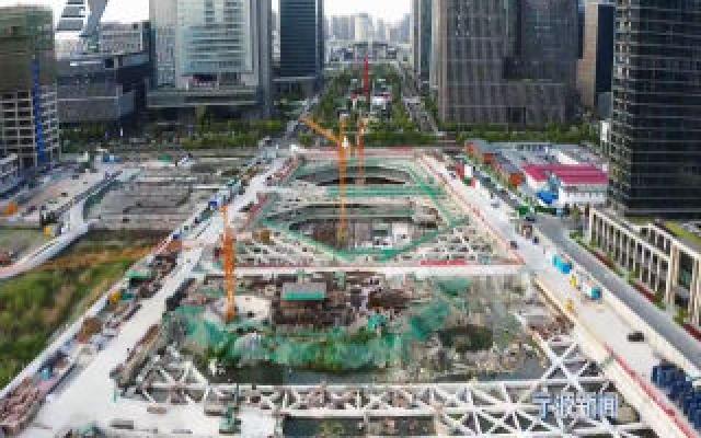 抢进度 抓建设 东部新城所有在建项目加速推进